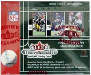 2002 Fleer Maximum Football Hobby Box, Factory Sealed