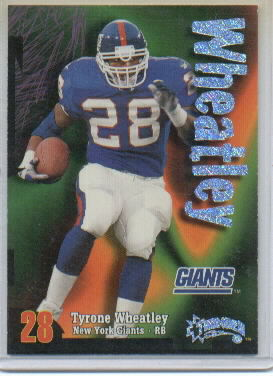 1998 SkyBox Thunder Rave #83 Tyrone Wheatley