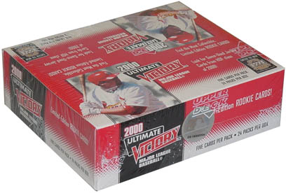 2000 Upper Deck Ultimate Victory Baseball Box, Factory-Sealed