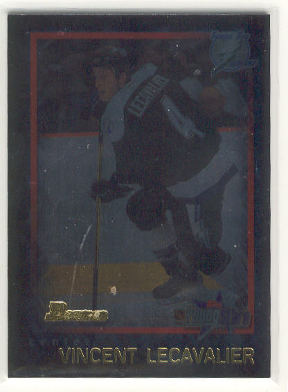 2001-02 Bowman YoungStars Ice Cubed #68 Vincent Lecavalier