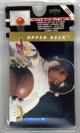 1994 Upper Deck Nothing But Nets 15-card Set 13/15