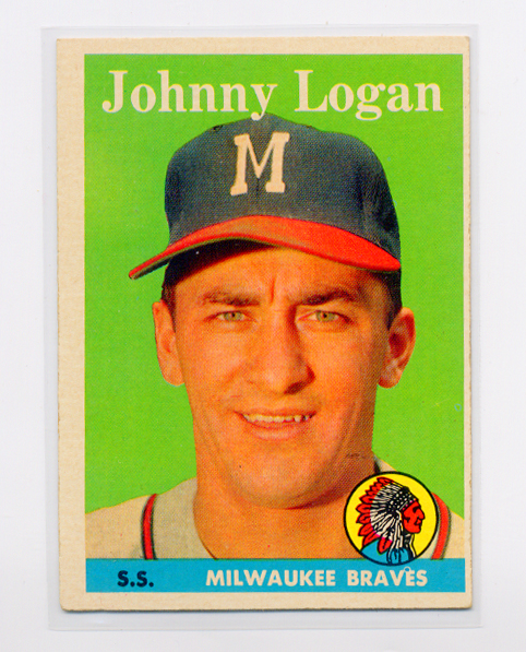 1958 Topps #110 Johnny Logan