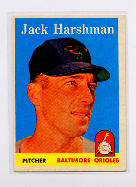 1958 Topps #217 Jack Harshman