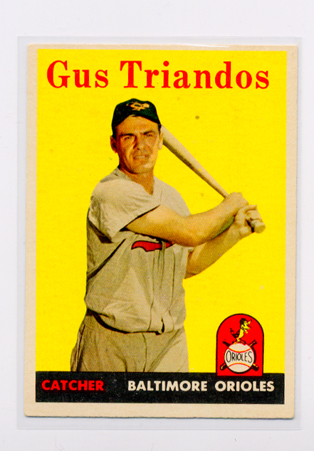 1958 Topps #429 Gus Triandos