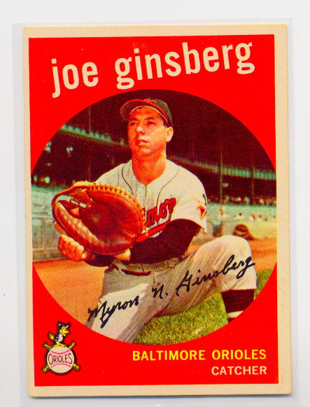 1959 Topps #66 Joe Ginsberg