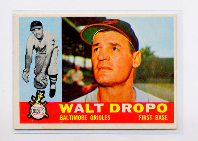 1960 Topps #79 Walt Dropo