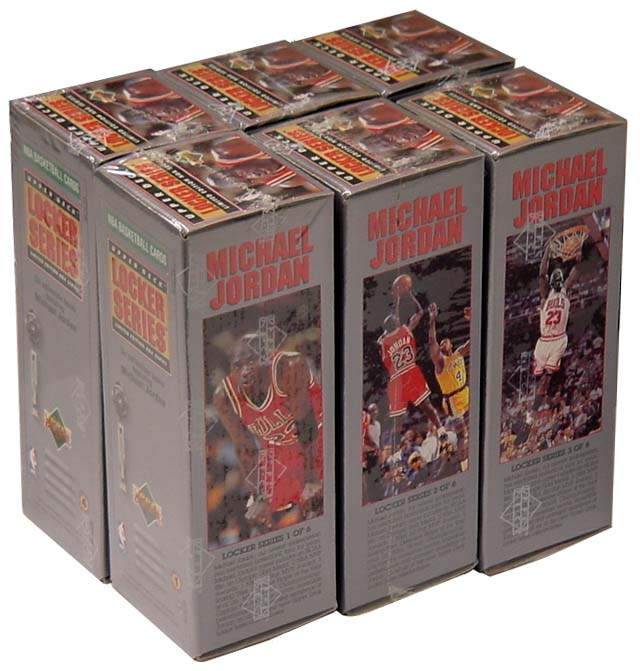 1991-92 Upper Deck Locker Series 6 Box Complete Set