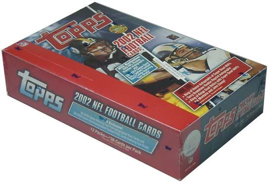 2002 Topps Football HTA Jumbo Hobby Box, Factory Sealed