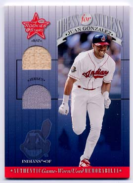 2001 Leaf Rookies and Stars Dress for Success #DFS11 Juan Gonzalez
