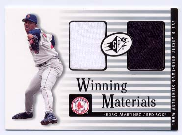 2000 SPx Winning Materials #PM P.Martinez Cap-Jsy/100