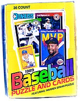 1989 Donruss baseball box