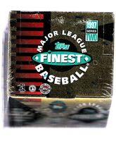 1997 Topps Finest II (Series 2) HTA jumbos baseball box