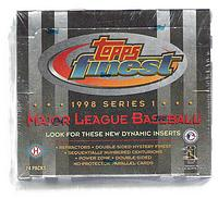1998 Topps Finest 1 (series one) baseball box