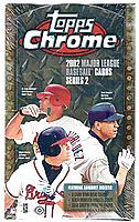 2002 Topps Chrome Series 2 ( two ) factory-sealed baseball box