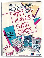1991 Pacific Flash Cards football box