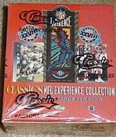 1994 Classic NFL Experience factory-sealed football box