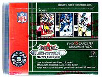 2002 Fleer Maximum factory-sealed football box