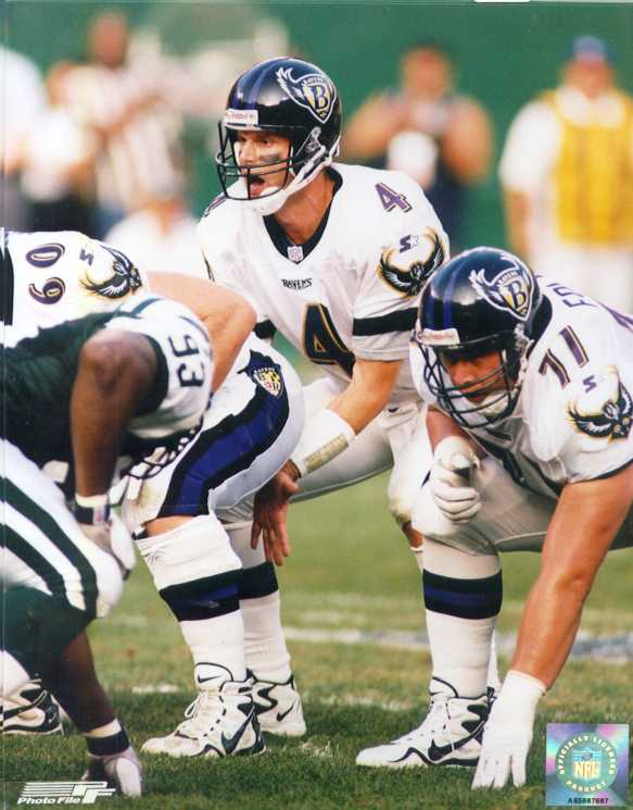 Baltimore ravens Jim harbaugh 8 x 10 color photo