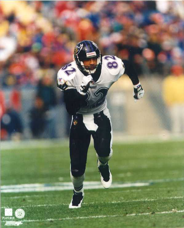 Baltimore ravens Derrick Alexander 8 x 10 color photo