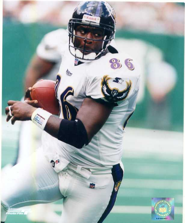 Ravens  Eric Green 8 x 10 color Photo