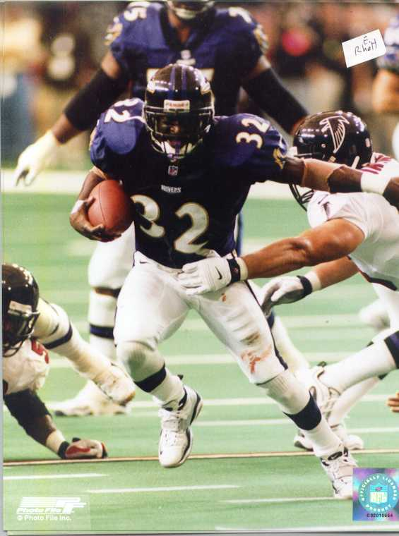 Ravens Errict Rhett 8 x 10 color photo