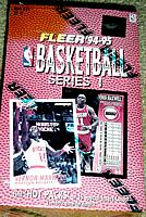 1994-95 Fleer 1 ( Series one ) basketball box