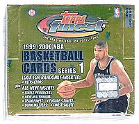 1999-00 Finest Series 1 ( one ) factory-sealed basketball box