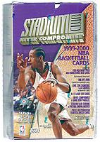 1999-00 Stadium Club factory-sealed hobby basketball hobby box