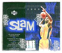 2000-01 Upper Deck Slam factory-sealed basketball box