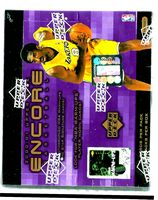 2000-01 Upper Deck Encore factory-sealed hobby basketball box