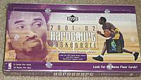 2001-02 Upper Deck Hardcourt factory-sealed basketball box