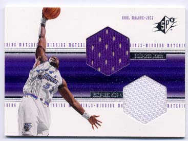 1999-00 SPx Winning Materials #WM2 Karl Malone
