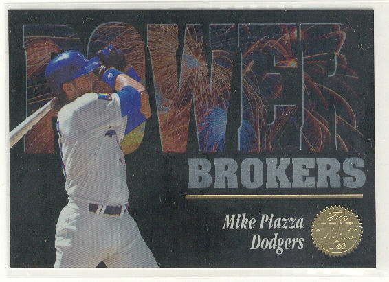 1994 Leaf Power Brokers #6 Mike Piazza