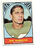 1967 Topps #98 Joe Namath