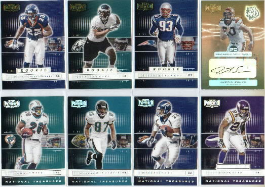 2001 Playoff Preferred National Treasures Silver #21 Keenan McCardell