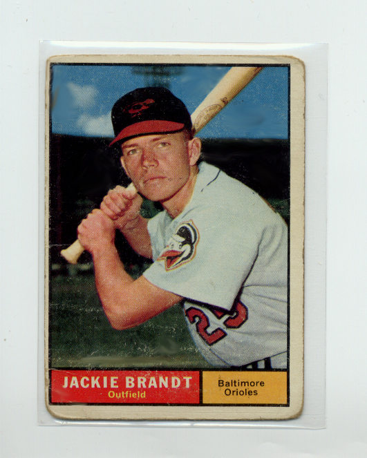 1961 Topps #515 Jackie Brandt