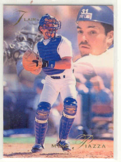 1993 Flair #75 Mike Piazza