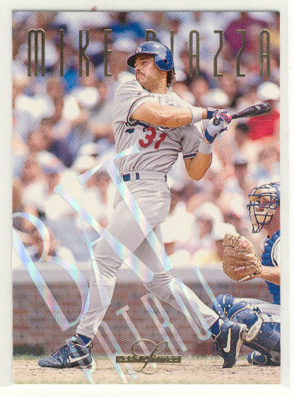 1995 Leaf Limited Bat Patrol #10 Mike Piazza