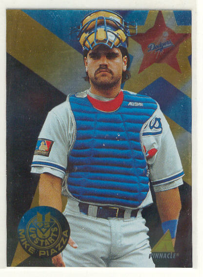 1995 Pinnacle Upstarts #US3 Mike Piazza
