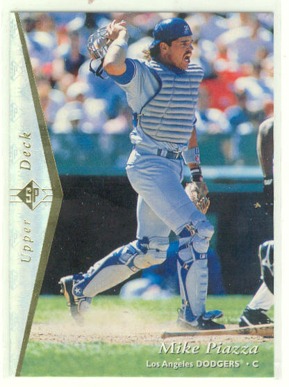 1995 SP Silver #70 Mike Piazza