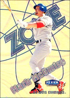 1998 Fleer Tradition Zone #11 Mark McGwire