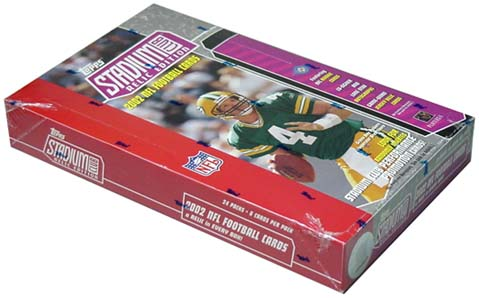 2002 Topps Stadium Club Relic Edition Football Hobby Box, Factory Sealed
