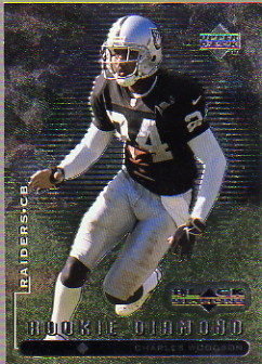 1998 Black Diamond Rookies #120 Charles Woodson RC