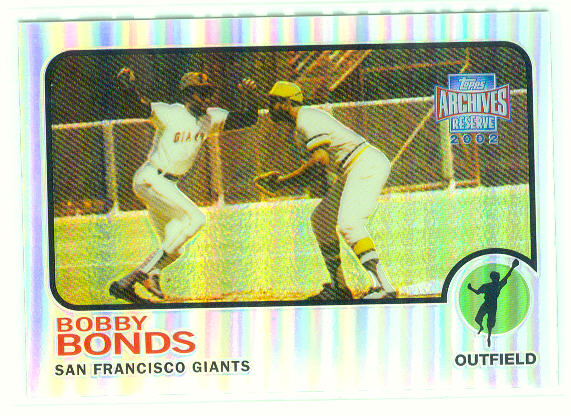 2002 Topps Archives Reserve #33 Bobby Bonds 73