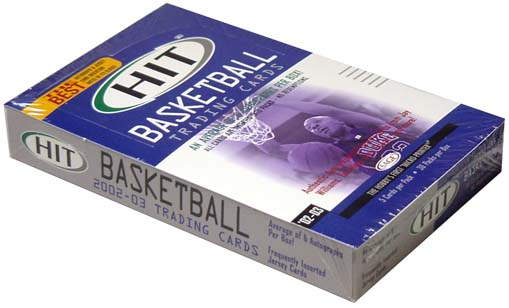 2000-03 HIT Basketball Hobby Box, Factory Sealed