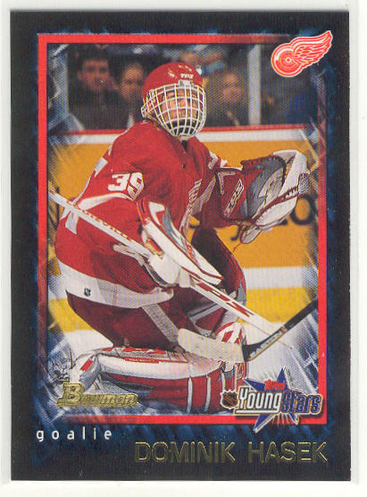 2001-02 Bowman YoungStars #21 Dominik Hasek