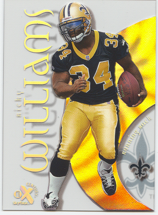 1999 E-X Century #65, Ricky Williams