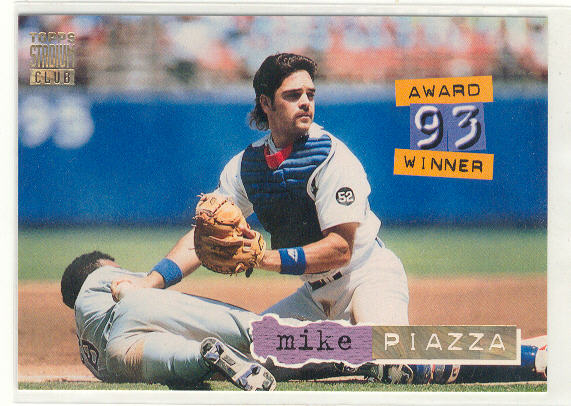 1994 Stadium Club Golden Rainbow #140 Mike Piazza