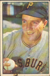 1953 Bowman Color Bob Friend 16 vg