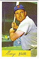 1954 Bowman #50 George Kell front image